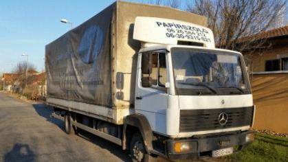 Nem rémálom többé a teherautó bérlés Budapesten!